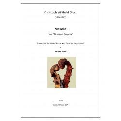 "Christoph Willibald Gluck - Mélodie from ""Orphée et Eurydice"""