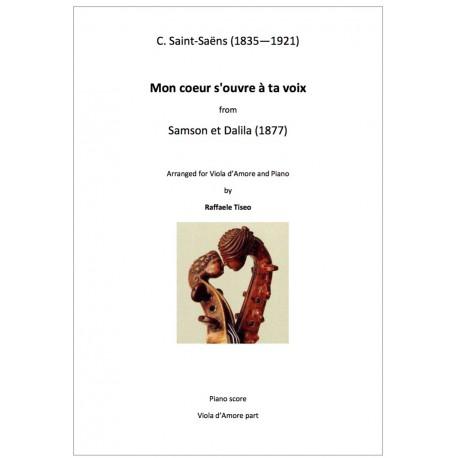 C. Saint-Saëns: Mon coeur s'ouvre à ta voix