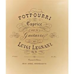 Luigi Legnani - Potpourri en Caprice pour la Guitarre
