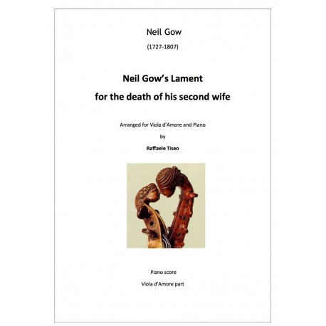 Neil Gow's Lament for the death of his second wife